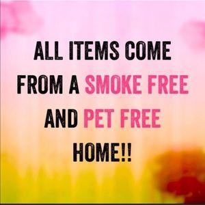 Other - Smoke free and animal free home.